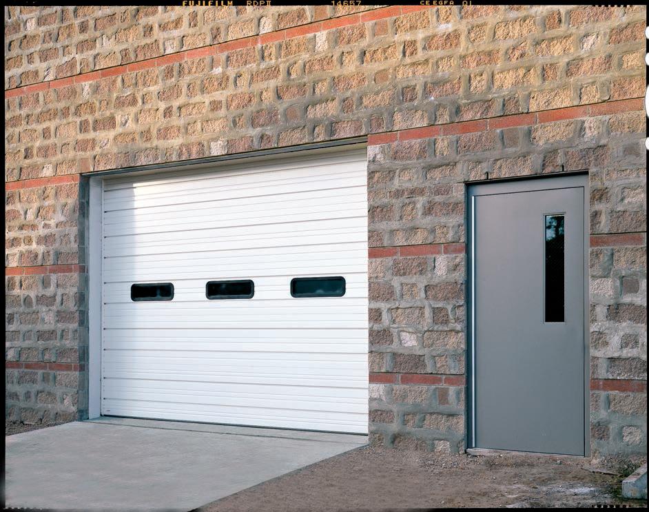 Ashley Sectional Garage Door